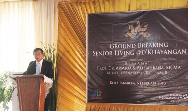 Ground Breaking Senior Living @ D\'Khayangan