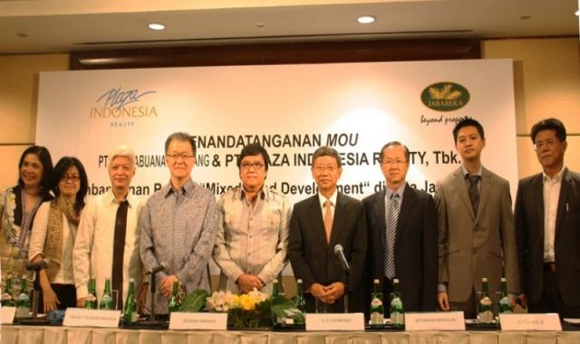 Jababeka dan Plaza Indonesia Bangun Kawasan Serbaguna