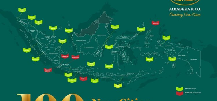 Bangun 100 Kota Baru, Jababeka Janjikan 100 Juta Lapangan Kerja
