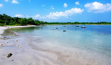 Beach at Tanjung Lesung