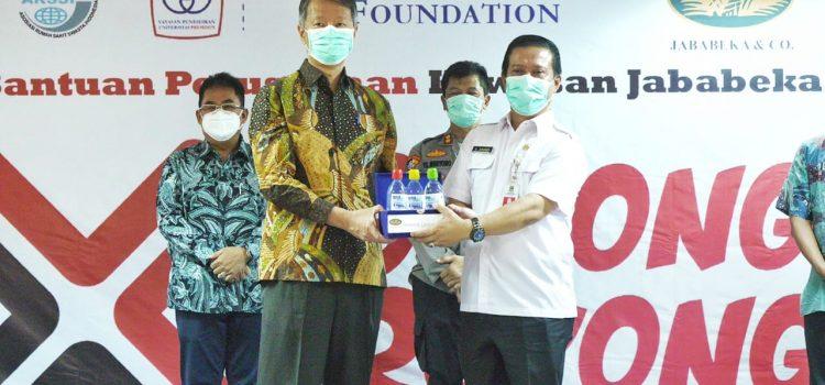 Tenant-tenant Kawasan Industri Jababeka Berikan Bantuan 7 Miliar untuk Tangani COVID-19