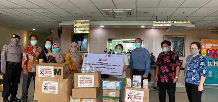 Jababeka dan Tenant Salurkan Bantuan Medis ke 10 Rumah Sakit dan 4 Instansi di Kabupaten Bekasi