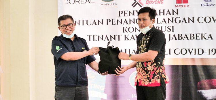 Jababeka Bersama Tenant Kawasan Industri Jababeka Salurkan Paket Bantuan Covid-19 ke 28 Lembaga Kesejahteraan Sosial