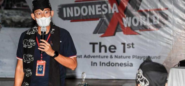 Menparekraf Sandiaga Uno Dukung KEK Tanjung Lesung Jadi 1st Largest Adventure & Nature Playground di Indonesia