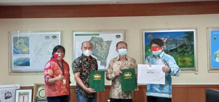 Jababeka Morotai dan PT Binamitra Kwartasedaya Teken Perjanjian Kerjasama Soal Pembangunan Street Mall di KEK Morotai